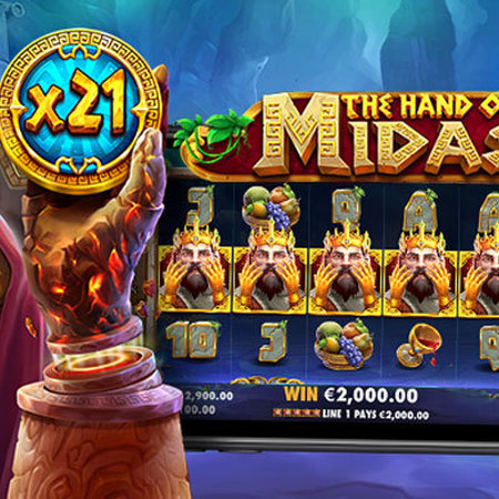 Pragmatic Play relives legendary Greek myth via new online slot The Hand Of Midas